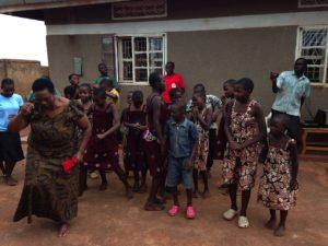 Mama Alice Celebrates with the Children of SIITA Nest