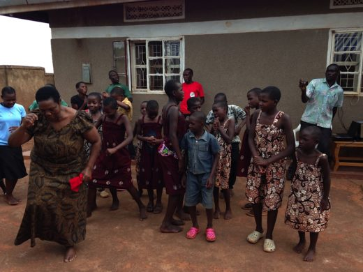 Mama Alice Celebrates with the Children of SIITA Nest