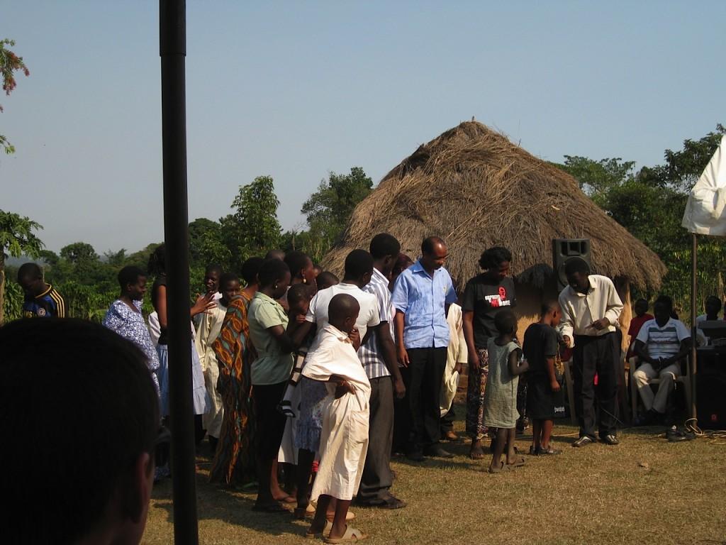 Sam & Irene Kisolo at the Foster Family Celebration