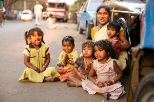 Pune India Children on the street