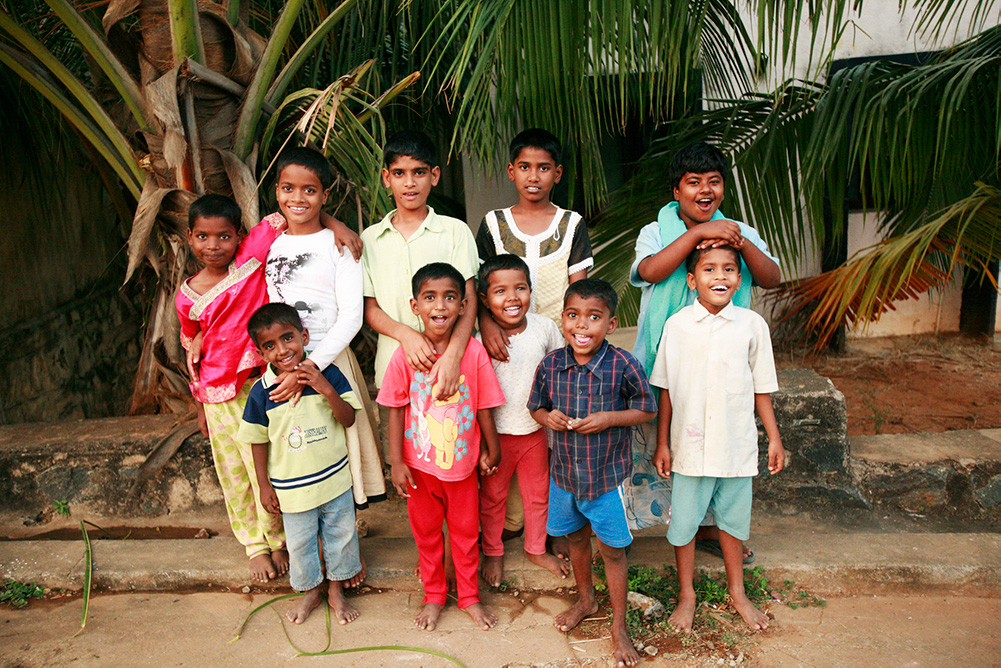 KIDS OF THE PACT AIDS HOME