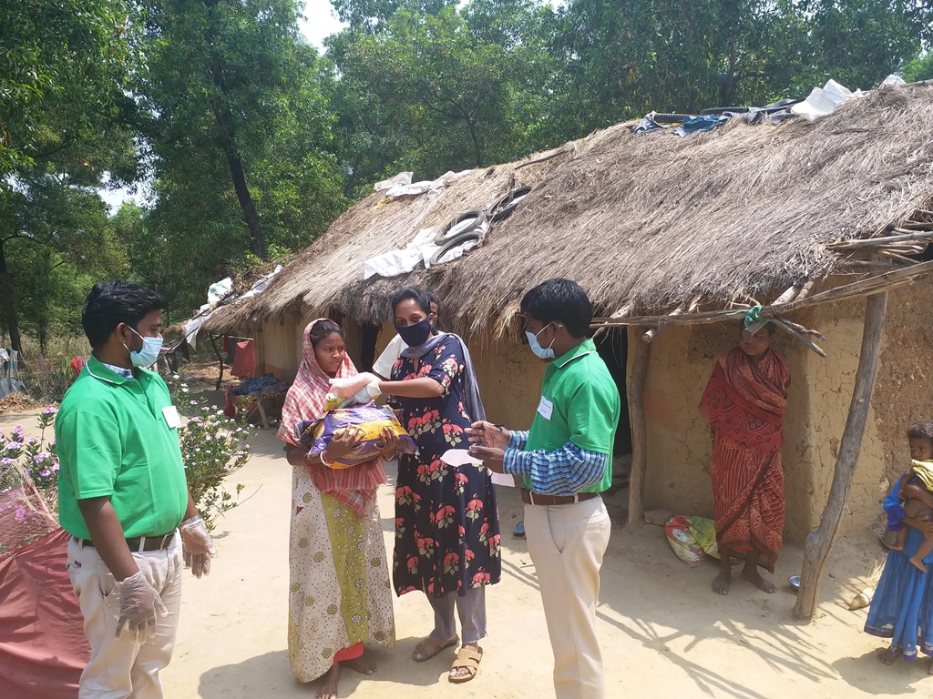 Members of our Coronavirus Emergency Relief Fund in India